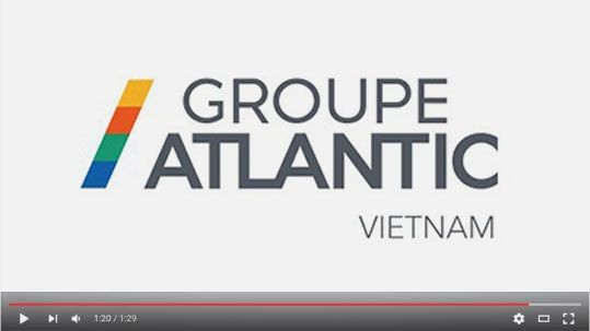 groupe atlantic vietnam video